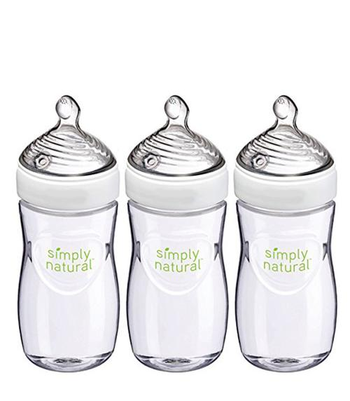 Simply Natural Glass Bottle, 9 oz