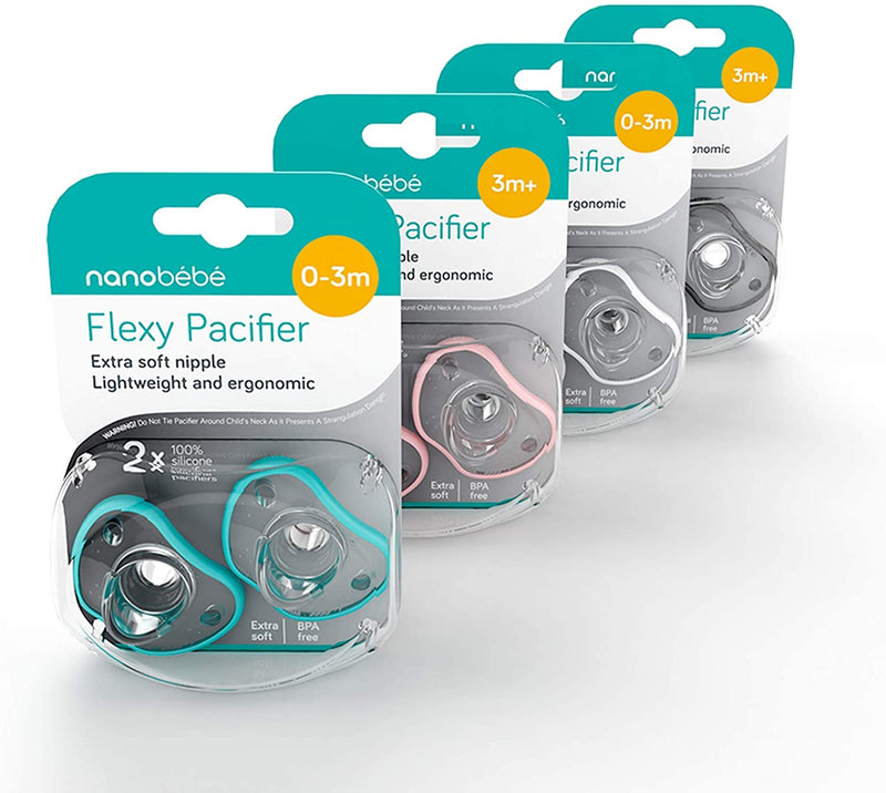 Flexy Pacifier, Twin-Pack