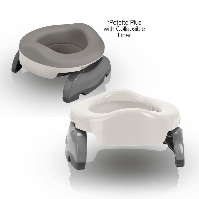 2in1 Potette Plus Portable Potty - Value Pack