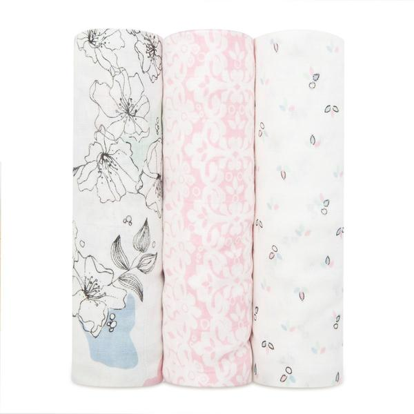 Silky Soft Swaddle 3pack