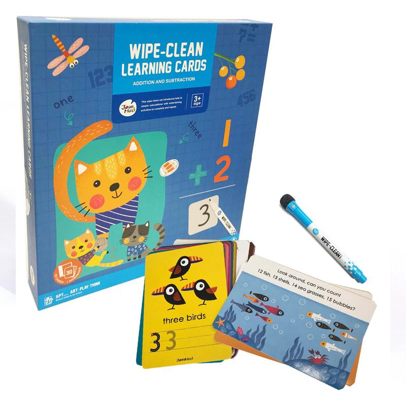 Wipe Clean Learning Cards