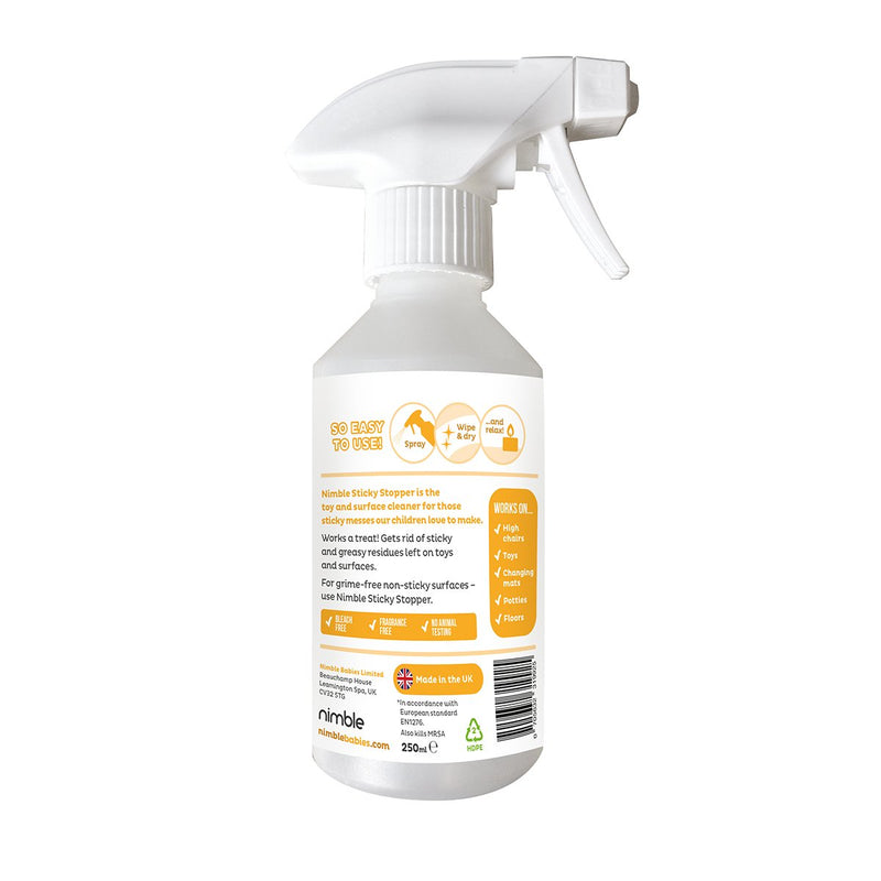 Sticky Stopper Antibacterial Cleaner