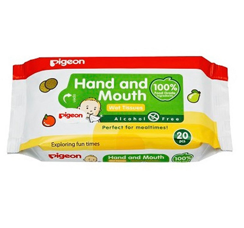 Hand & Mouth Wet Tissue