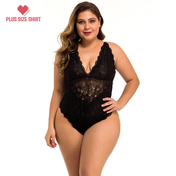 Backless Bodysuit Sexy Nightwear Lace Body String Sleepwear