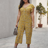Casual temperament jumpsuit