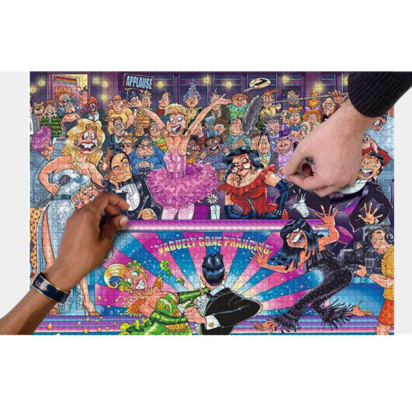 Strictly Can't Dance solution (1000 PIECES)