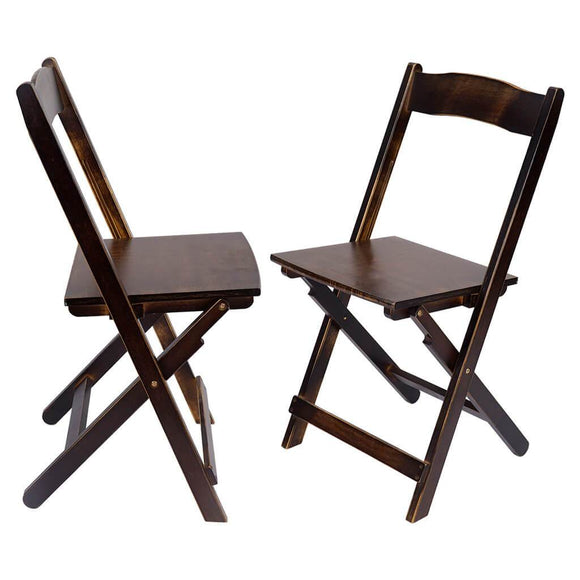 Household bamboo folding chair Of 2