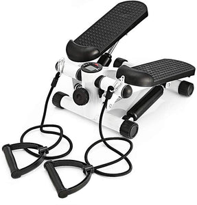 Sunny Health & Fitness Mini Stepper with Resistance Bands