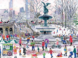 Bethesda Fountain 1000-piece Puzzle