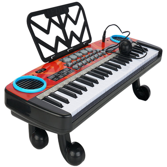 49 Keys Multifunction Electronic Piano Kids Keyboard Music With Microphone