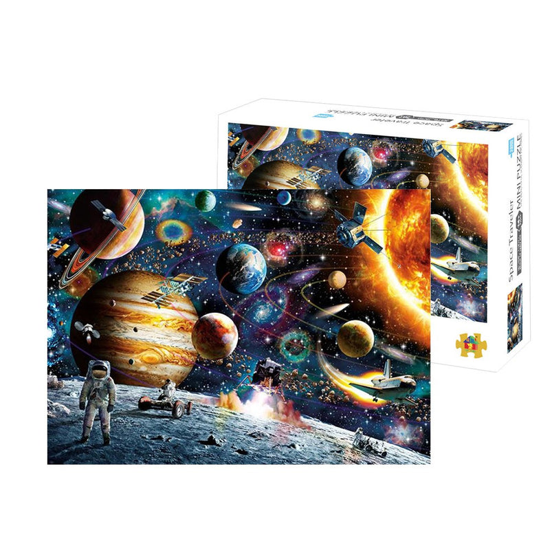 1000 Piece Landscape Puzzle Game