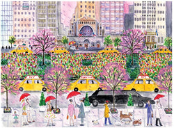 NEW YORK IN FOUR SEASONS 1000-Piece Puzzle