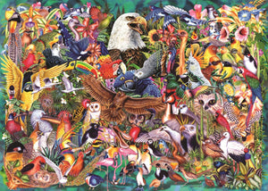 Bird Encyclopedia  1000-Piece Puzzle