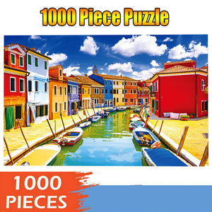 Colorful Vessels 1000-Piece Puzzle