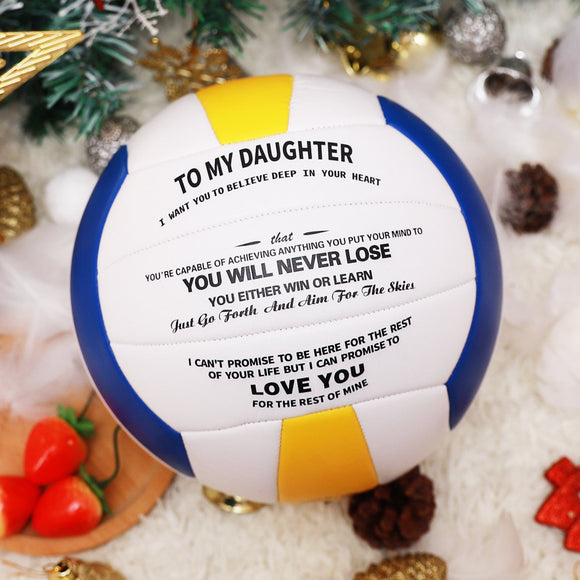 To My Daughter - You Will Never Lose | Volleyball