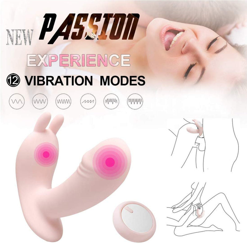 USB Charging Wireless Remote Wearing Clitoris Stimulator Vibrator Masturbator