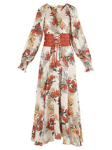 Teer Floral Maxi Dress - SINCETHEN