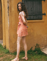 Lady Check Mini Dress - SINCETHEN