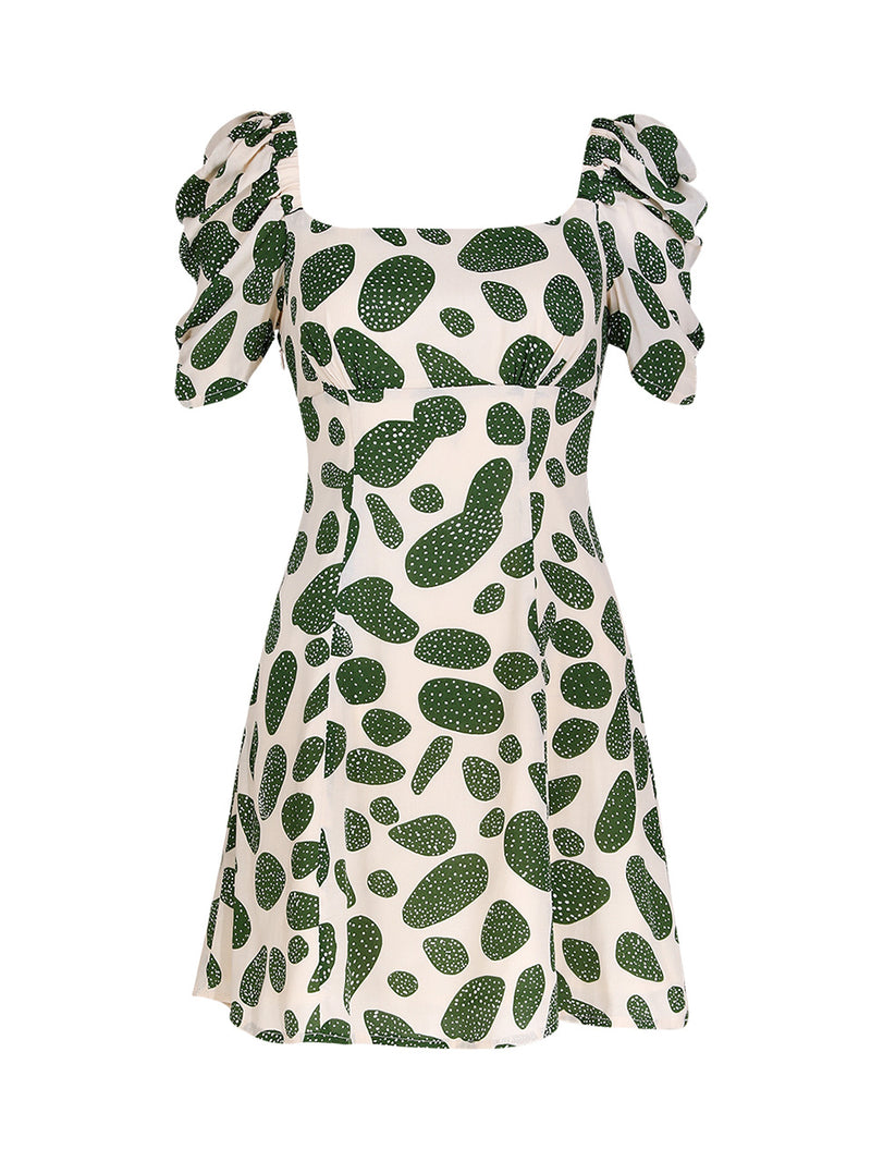 Jade Shirring Dress - SINCETHEN
