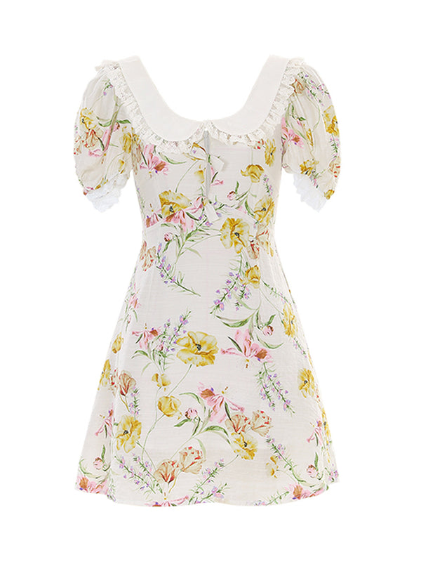 Coco Frill-Neck Dress - SINCETHEN