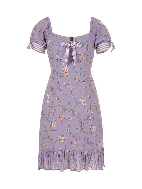 Charlotte Ribbon Dress - SINCETHEN
