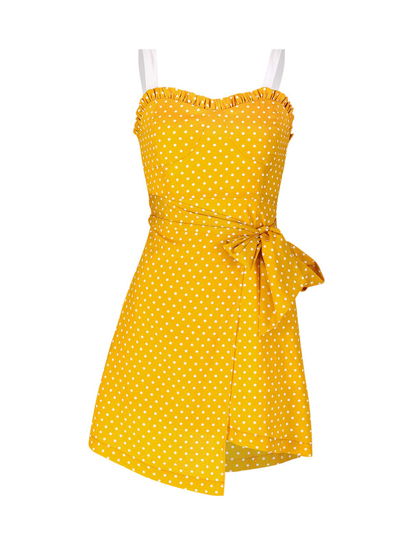 Miranda Dotted Dress - SINCETHEN