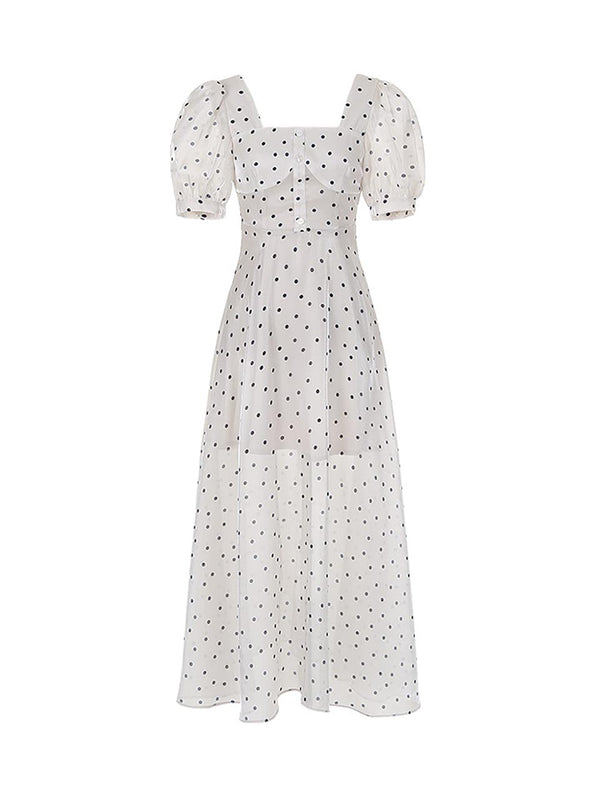 The Esther Dot Dress - SINCETHEN