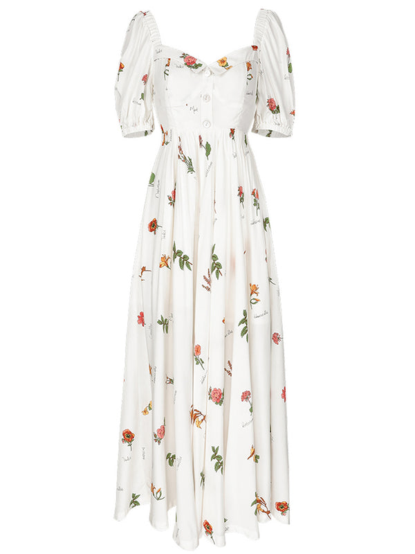 Flore Darling Long Dress - SINCETHEN