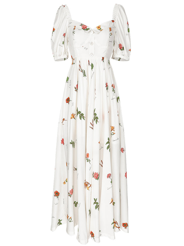 Flore Darling Long Dress