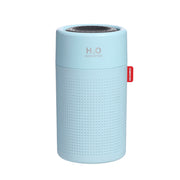 Blue colour Portable H2O Fresh Air Humidifier 750ml.