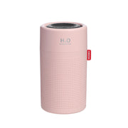 Pink colour portable air humidifier for air quality.