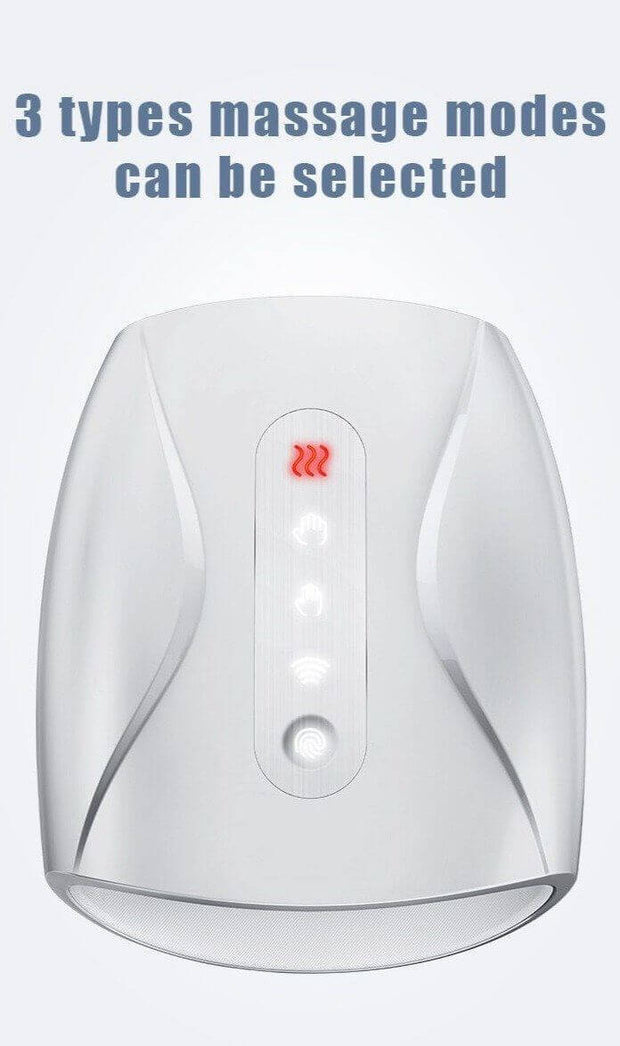 Hand and Palm Massager With Heating - Body Massager
