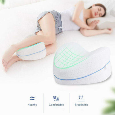 Orthopedic Memory Foam Leg Pillow - Body Massager