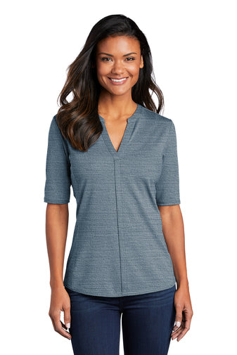 Port Authority ® Ladies Stretch Open Neck Top