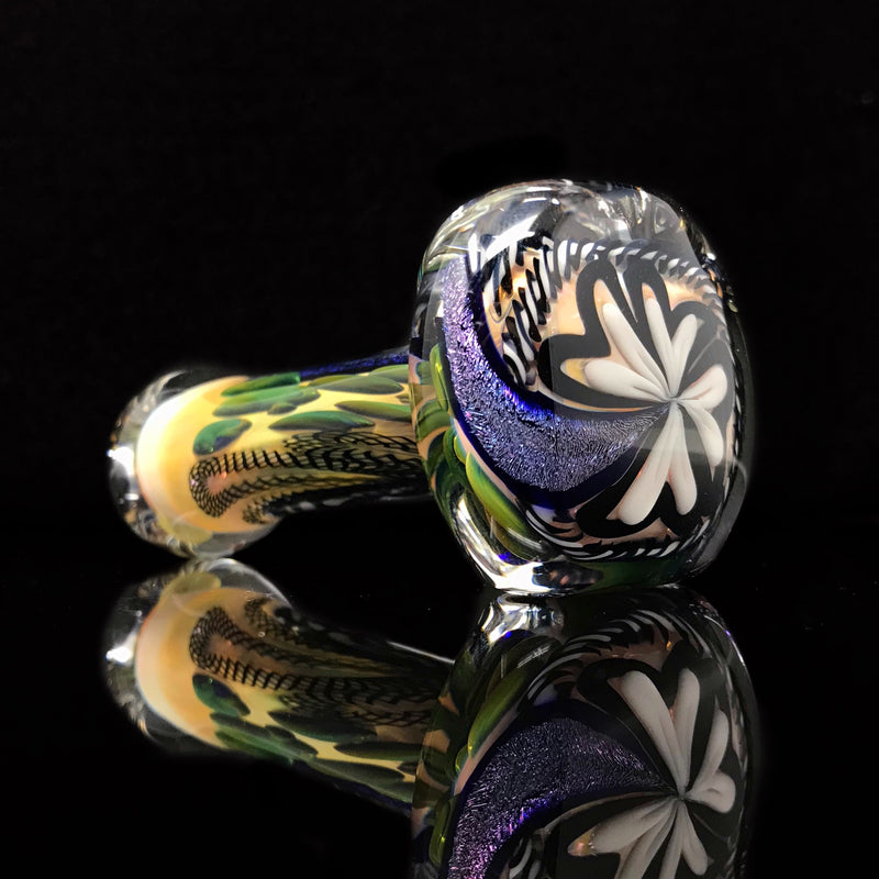 "Talent Glass Dichro Strip Spoon ""A"""