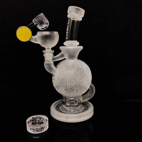 Mothership Clear Ball Rig Set (Yellow Emblem) [Nov 2019 Drop]
