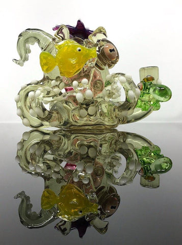 Pacini Glass Octopus Recycler #1 (CFL Reactive)