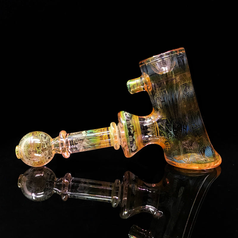 Mothership Glass Dry Hammer Pipe
