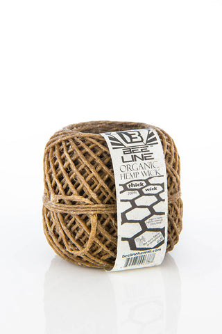Bee Line Thick Hemp Wick Ball
