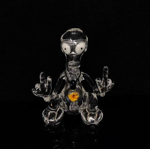*Pre-Loved* Iceman Clear Roger Alien Rig