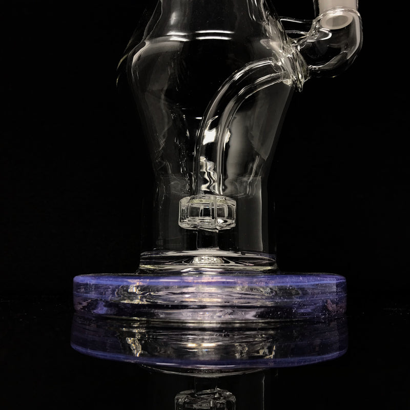 Infamous Glass Diamond Shape Water Pipe (Accented)