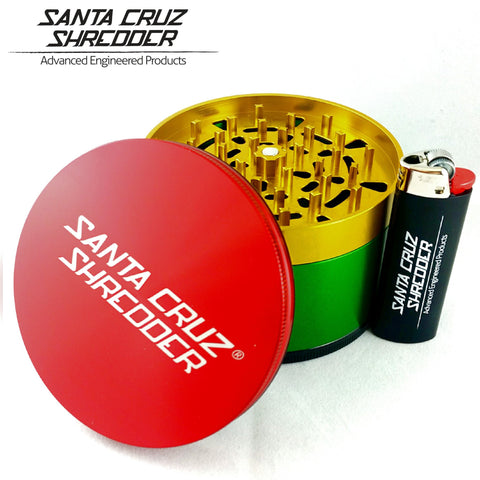 Santa Cruz Shredder 4 Piece Jumbo Grinder