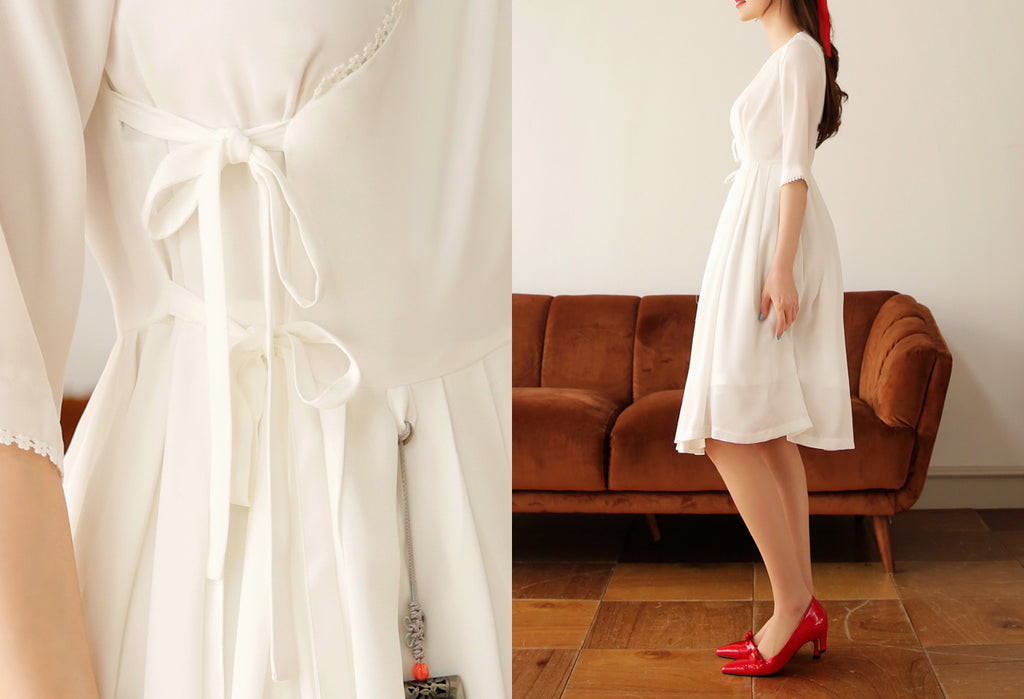 Women's Modern Hanbok: Classic One-Piece Cheolrik Dress
