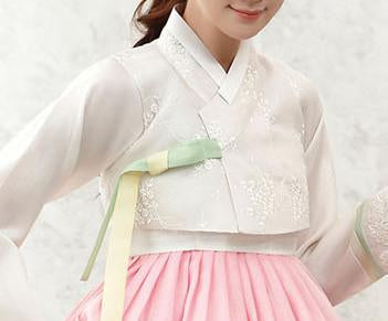Custom Women's Bridal Hanbok: Everlasting Spring-The Korean In Me