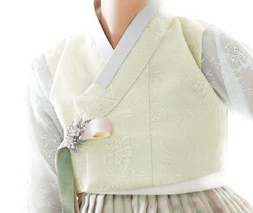 Custom Women's Bridal Hanbok: Spring Meadow-The Korean In Me