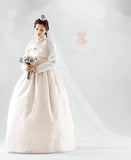 Custom Women's Bridal Hanbok: Ultimate Lace and Pastel Pink