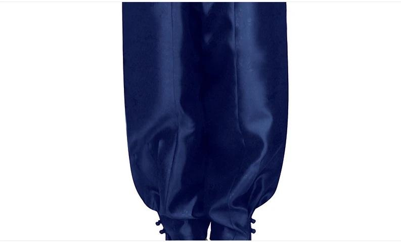 men's korean hanbok navy pants