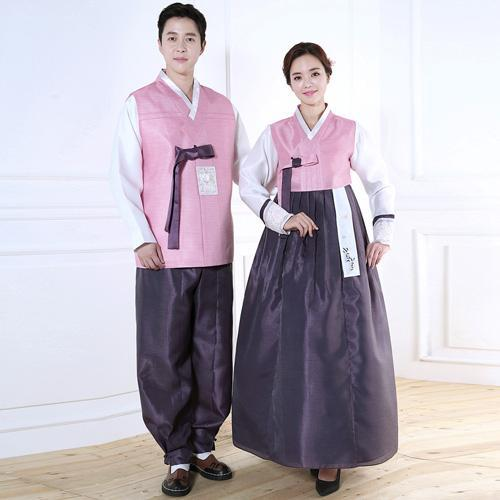Wedding Hanboks: Pink and Purple Couples Set-The Korean In Me