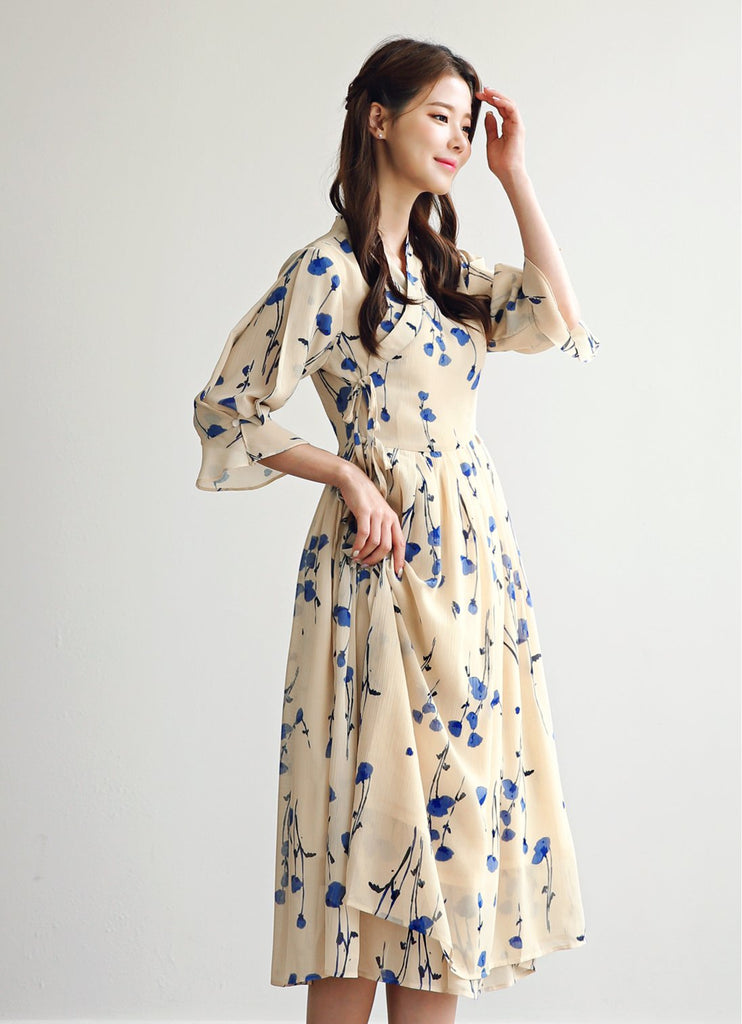 Women's Modern Hanbok: Royal Chic Dress-The Korean In Me