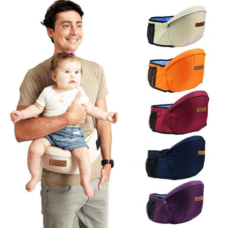 2-in-1 Baby Carrier with Storage Pack